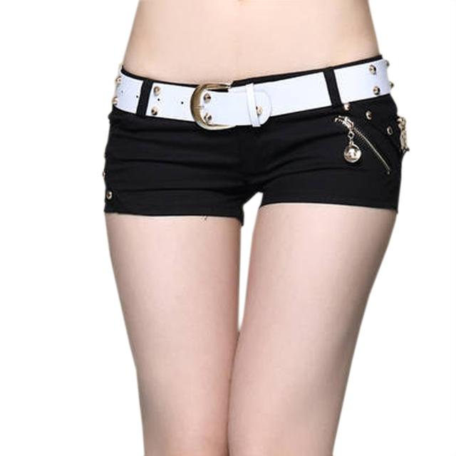 Мода бренд женщин шорты с низкой талией сексуальные шорты женские летние шорты худощавое ...