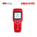 OBDSTAR X 100 PRO Auto Key Programmer C D Type for IMMO Odometer OBD Software Support