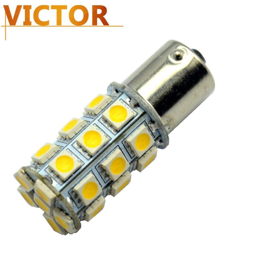 10x 1156/1157 led light 1156 27 smd 5050 tail brake led bulb Fog Lamp Turn Signals Daytime Running White Red Blue Green #VF05-2