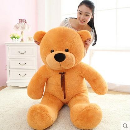 Здесь можно купить  2016 New arrival 120cm big giant teddy bear plush stuffed animals kid baby dolls life size teddy bear Christmas birthday gift  Игрушки и Хобби