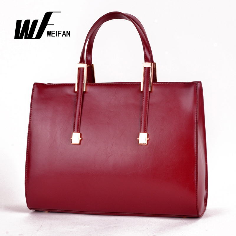 2014 Brand 100% Women Genuine Leather Handbags OL Casual Desigual
