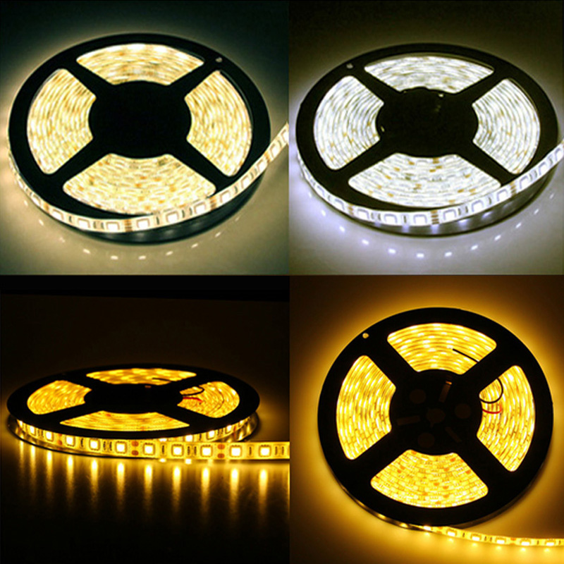 5m 5050 300 SMD IP65 Waterproof LED strip,12V flexible 60led/m LED tape, white/warm white/blue/green/red/yellow/RGB/Cold White(China (Mainland))