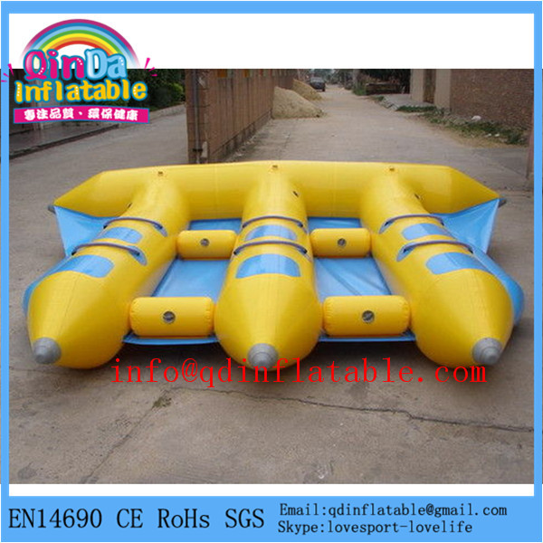Water park used Inflatable water fly fish flying fish boat(China (Mainland))