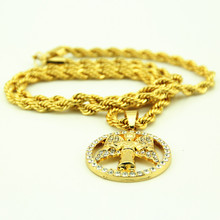 Gothic Hip Hop Gold Necklace for Women 2016 Boho Colar Vintage Fine Jewelry Collar Mujer Bijoux Gold Chain Statement Necklace