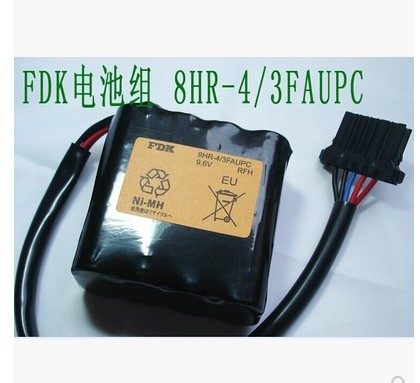 FDK 8HR-4/3FAUPC 4/3FAUPC 9.6V 4500mah Length: 72mm high: 67mm wide: 36mm Nickel metal hydride rechargeable battery pack(China (Mainland))