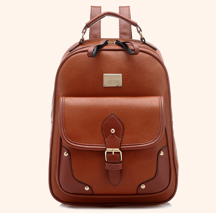 Popular Backpack Leather Women-Buy Cheap Backpack Leather Women ...