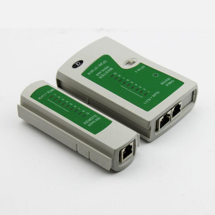 RJ11 RJ12 RJ45 CAT5 Cat6 LAN Handheld Ethernet Network Tool Kit Cable Tester Crimp Crimper Plug
