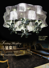 NEW Luxury Crystal Ceiling Light Luminaria teto Abajur D50cm 21w 90-265v Luminaria Crystal Teto Abajur Ceilng LED Light(China (Mainland))
