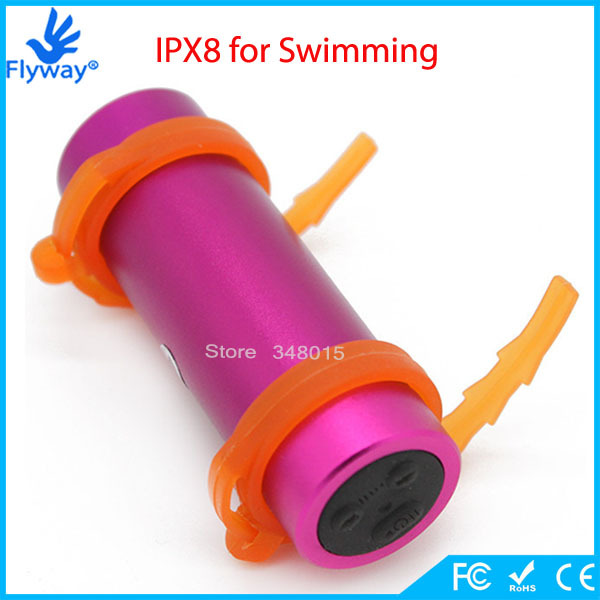 8GB IPX8 Waterproof MP3 Player Underwater Swimming Diving with FM Radio Earphone Arm Brand Ruizu Water Resistant(China (Mainland))