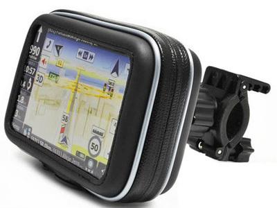 Water-resistant WaterProof bike/bicycles/motorcycle Case & Mount for 4.3'' Garmin Nuvi Tomtom GPS Navigator, FREE SHIPPING(China (Mainland))