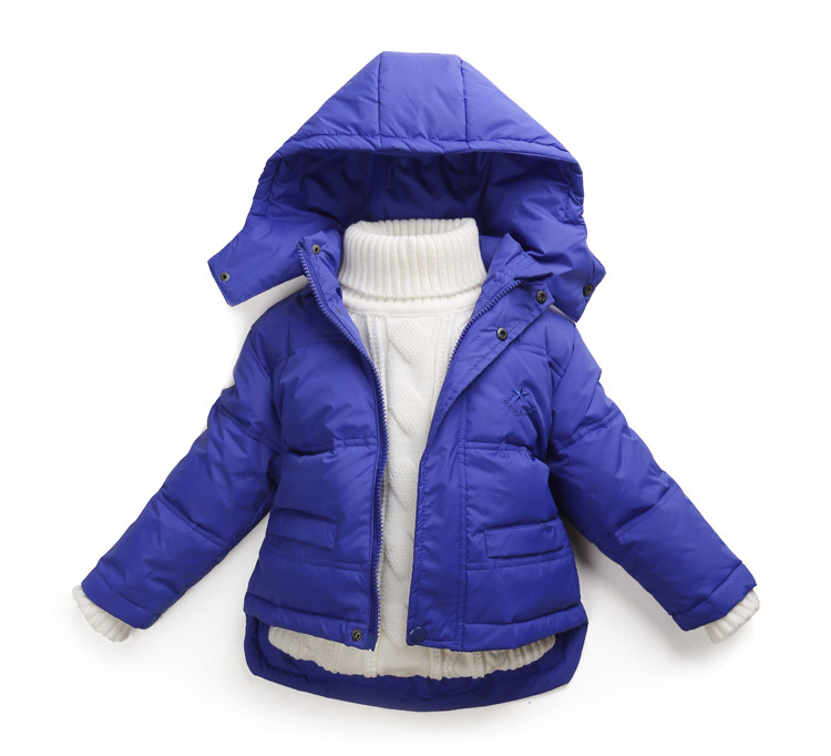 Children's down jacket / baby boys and girls winter coat 9 color /2-6 years girl jacket winter(China (Mainland))