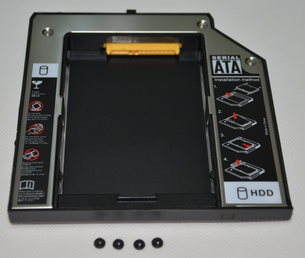 For IBM Lenovo Thinkpad T420 T430 W530 T530 T430i 2nd SSD HDD Hard Drive Caddy<br><br>Aliexpress