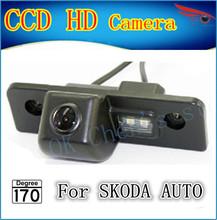 Ccd специальный вид сзади автомобиля обратный резервного копирования камера заднего вида парковка для SKODA ROOMSTER OCTAVIA FABIA