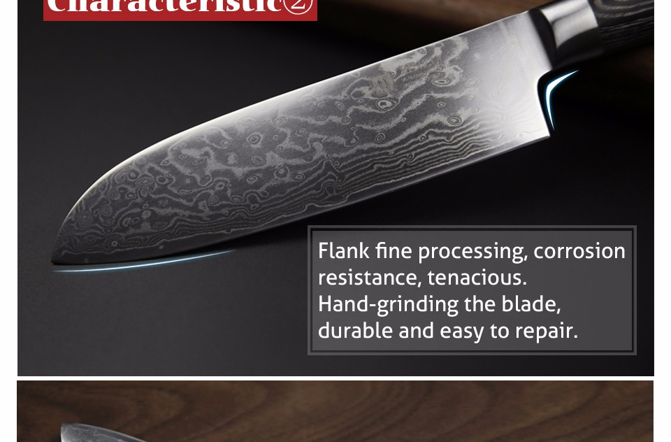 Buy XINZUO NEW 5 inch santoku knife 67 layers China Damascus steel kitchen knife high quality with Pakka wood handle FREE SHIPPING cheap