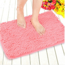 2015 High Quality Chenille Carpet For Living Room Microfiber Shower Bathroom Shaggy Fluffy Mat Carpes Wholesale Doormat(China (Mainland))