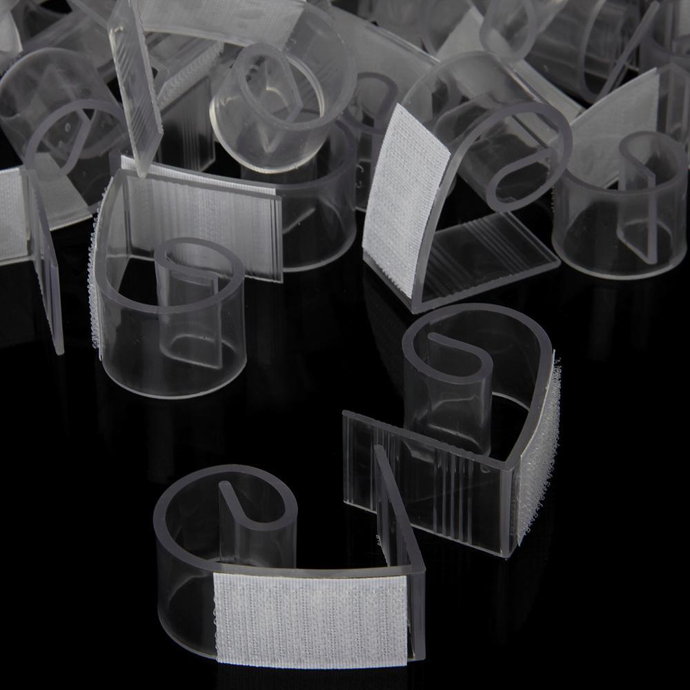 50pcs Plastic Table Skirt Skirting Clips 3-4.5cm Wedding Party Decoration(China (Mainland))