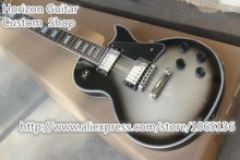 Chinese OEM Musical Instrument LP Custom Electric Guitar Silverburst Color & Left Hand LP Guitar Available(China (Mainland))
