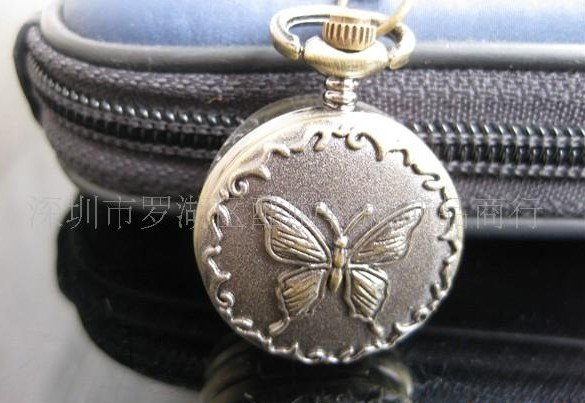 HB0011 D2.5cm Hot sale Antique Pocket watch with chain free shipping mix order<br><br>Aliexpress