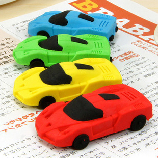 Japan and South Korea stationery stationery removable sports car racing rubber eraser cartoon eraser 27g Toys<br><br>Aliexpress
