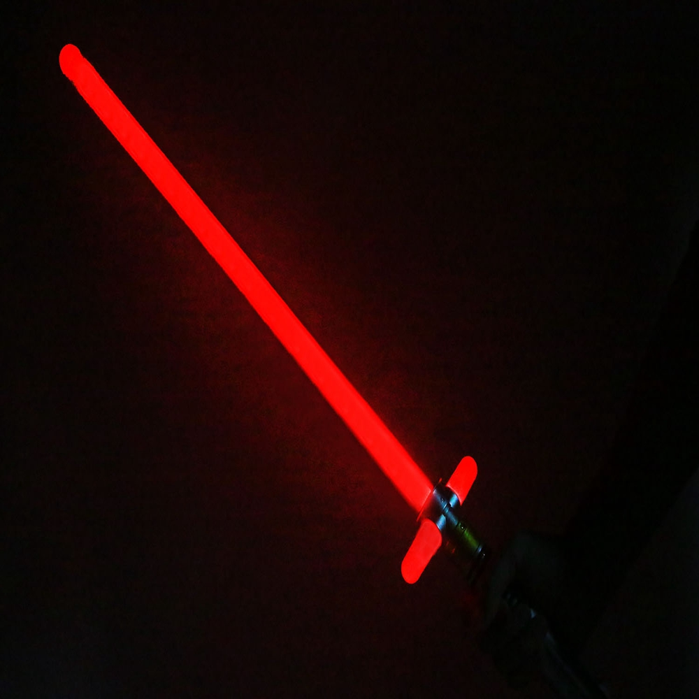 Star Wars Lightsaber The Force Awakens Kylo Ren Force Fx Lightsaber Toy Gift For Kids Blue/Red Prop replica(China (Mainland))