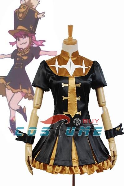 New Arrival KILL la KILL Nonon Jakuzure Uniform Final Shap Form Dress Cosplay Costume(China (Mainland))