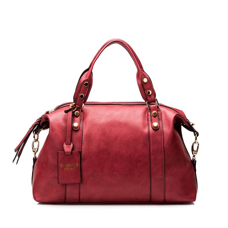 2016 New Women Bag Genuine Leather Famous Brand Fringe Women Messenger Bags Bolsa Femininas Women Purses And Handbags Vintage(China (Mainland))