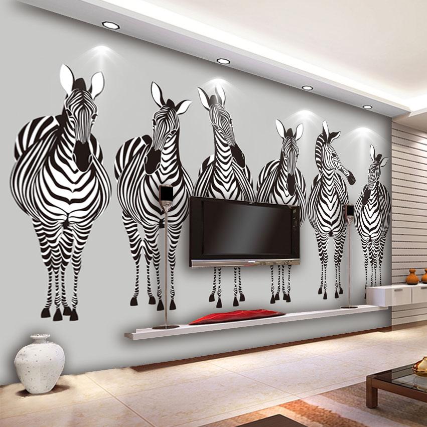 Moderne witte lederen sofa promotie winkel voor promoties moderne witte lederen sofa op - Behang zebra ...