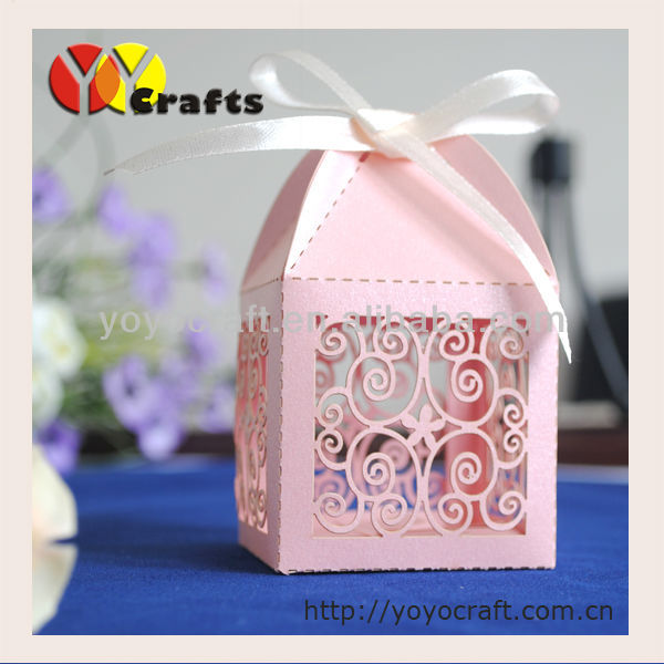 Specialized in papercraft wedding candy favor box wholesale(China (Mainland))