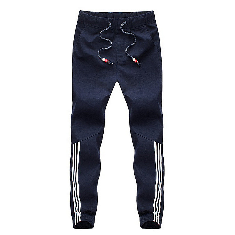 TopDesign 2015 Cotton Harem Pants Casual Long Men Joggers Pants Fashion Drawstring Elastic Waist Slim Mens Sports Pants Trousers(China (Mainland))
