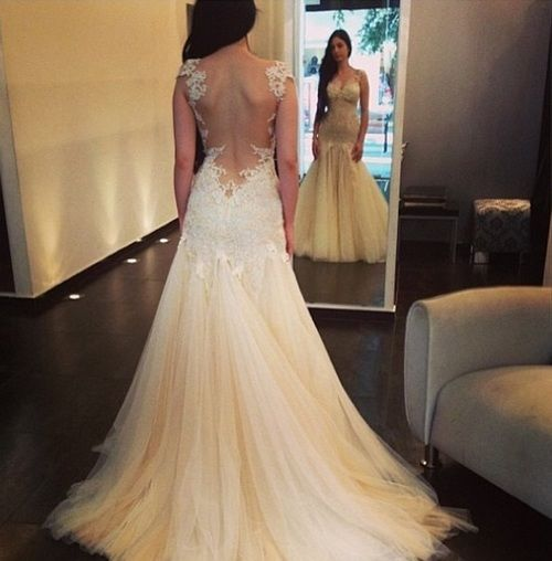 Best selling 2015 wedding dresses with appliques for Best selling wedding dresses