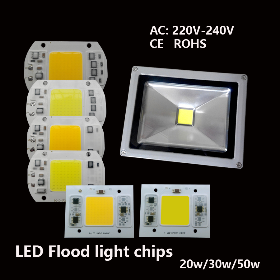 20W 30W 50W 220v-240V High power driverless led chip integrated Driver for led flood light landscape down light indoor beads(China (Mainland))
