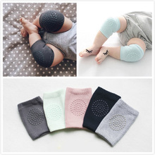 2016 New Hot Baby Crawling Short Knee Pads Children Boys Girl Leg Warmers Crochet Elbow Cushion Kneepads For Toddlers Safety (China (Mainland))