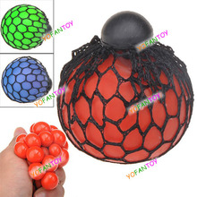 Free Shipping Magic Squeeze Grape Soft Rubber Toy Lovely Vent Grape Ball Style Pop-out Stress Relieving Squeeze Toy(China (Mainland))