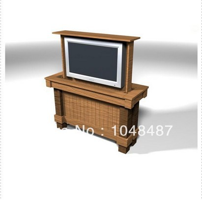 free shipping for adjustable lcd tv standcan be lift 600mm with tv wall units(China (Mainland))