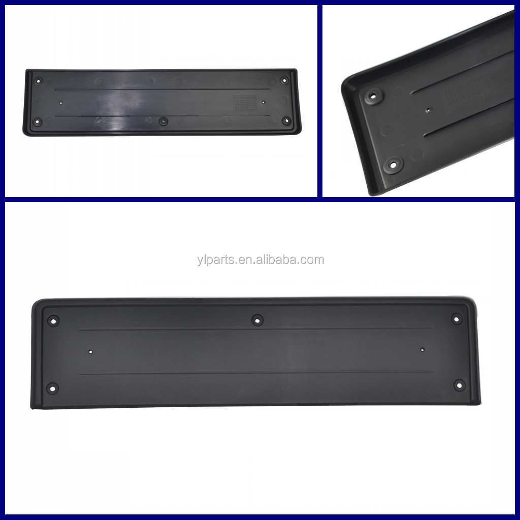 LR016853 car license frame for Land Range Rover 2010-12 auto rear license plate with plinth licence number plate bracket retail(China (Mainland))