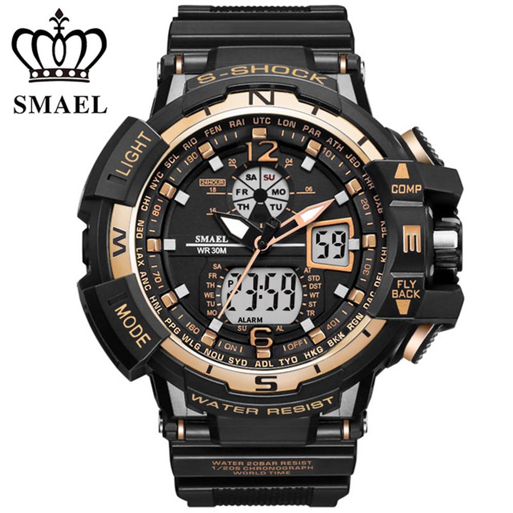 online get cheap watches man clock s shock aliexpress com digital sports watch men g clock male military outdoor led quartz wrist watches s shock men s