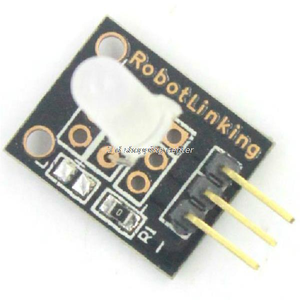 Smart Electronics KEYES KY-011 5mm Two Color Red and Green LED Common Cathode Module for Arduino Diy Starter Kit 2-color KY011(China (Mainland))
