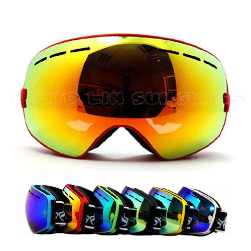 Гаджет  Fashion Eyewear Snow Snowboarding Glasses snow/UV- Protection Multi-Color/ double anti-fog lens Skiing Goggle BNC None Спорт и развлечения