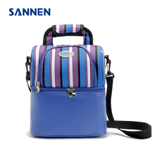 Buy SANNEN 2017 Cooler Bags 9L Thermal Lunch Ice Pack Picnic Storage Bags 600D Oxford PEVA Foil Folding Insulation Food Bags for $14.69 in AliExpress store