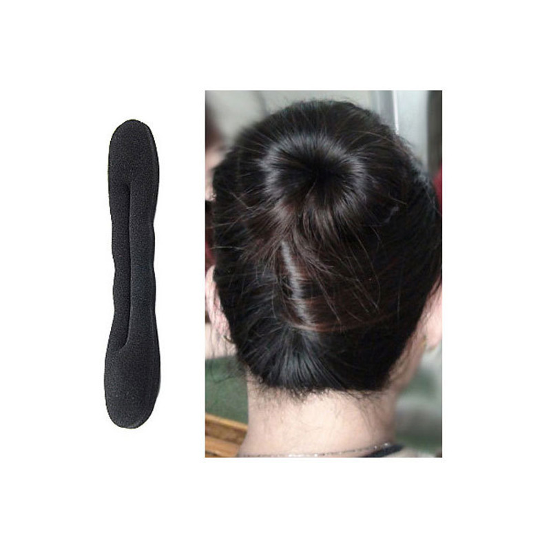 2pcsFrench Styling Magic Hair Foam Sponge Curler Maker Former Twist Sponge Hair Styling Tools Hair Accessories French Braid Tool(China (Mainland))