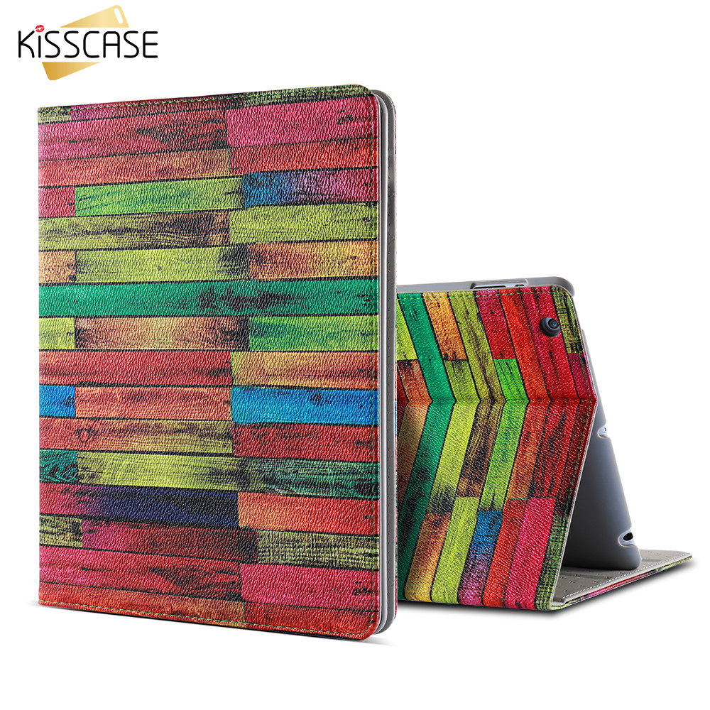 KISSCASE 9.7 For iPad 2 3 4 Case Universal Smart Wake Up Save Power Tablet Stand Cover For Apple iPad 2 3 4 Capa Shell Cases(China (Mainland))