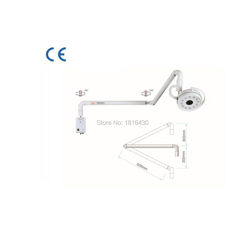 CE/FDA Approval 36W Wall Mounted LED Surgical Medical Examination Light Shadowless Operation Lamp Cold Light NEW(China (Mainland))