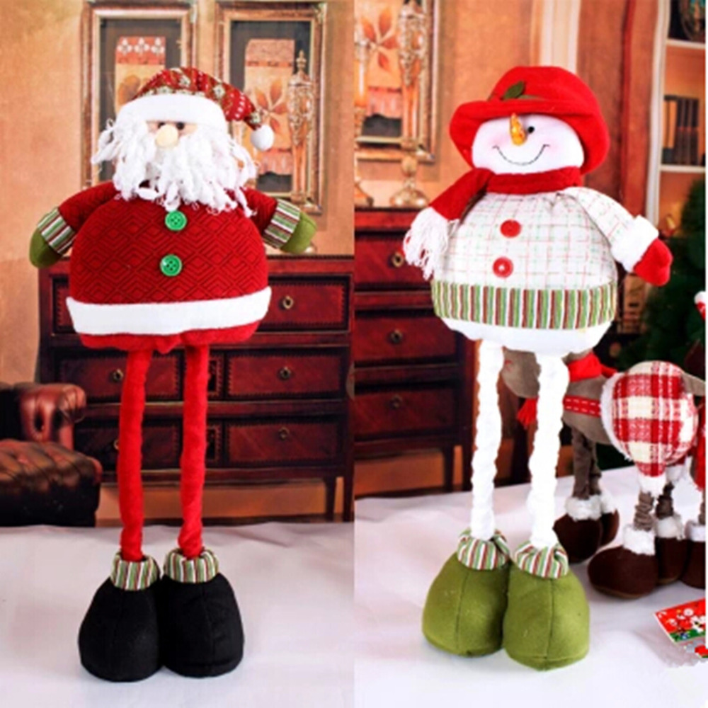 Buy Christmas Chair Covers 6 Pcs Lot Santa Claus Snowman