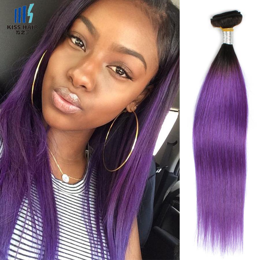 Purple Weave Hair Outre Human Hair Blend Premium Purple Pack