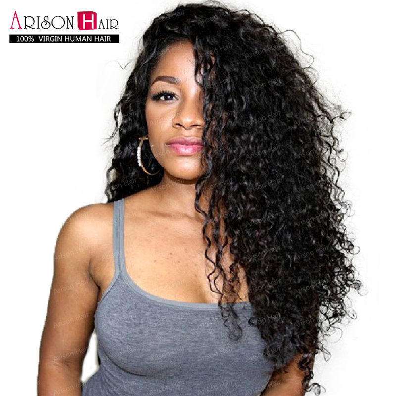 Human Hair Lace Front Wigs Black Women Full Lace Human Hair Wigs Kinky Curly Wig,Cheap Brazilian Full Lace Wig With Baby Hair(China (Mainland))