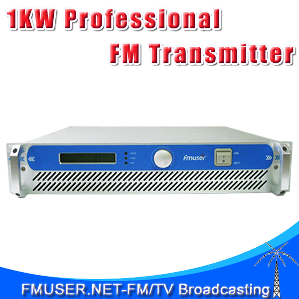 New Arrival! FSN-1000 1000w Power Adjustable FM Transmitter for FM Radio Broadcasting Station City radio Station(China (Mainland))