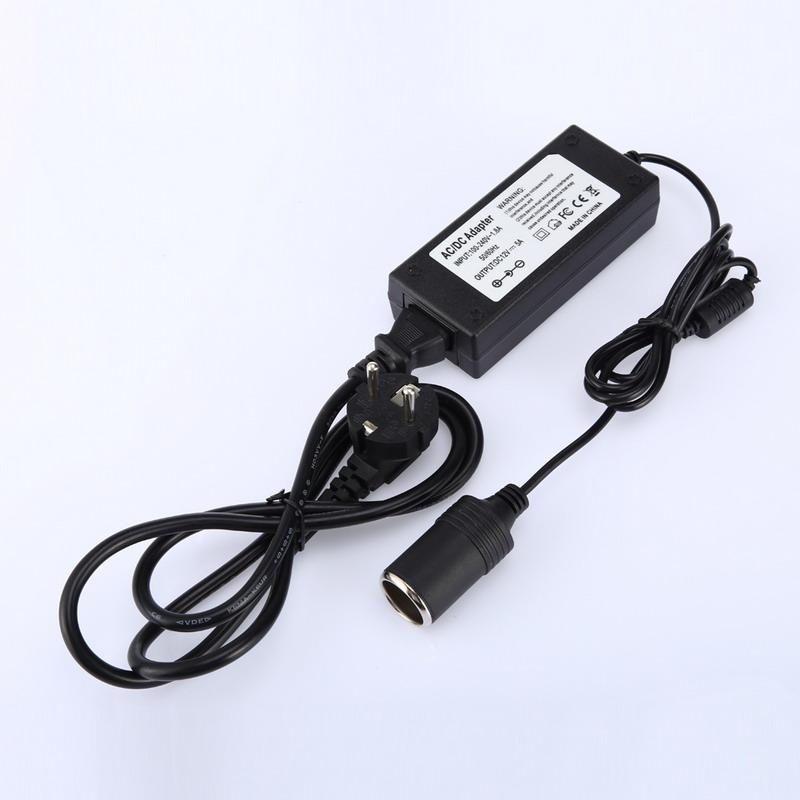 Automotive Household Car Charger Cigarette Lighter Inverter AC 220V To DC 12V Power Adapter Converter EU plug High Quality(China (Mainland))