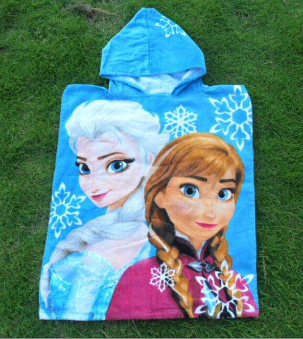 wholesale 2015 Kids microfiber towel children hooded beach towel Queen toalla playa Bath Towel(China (Mainland))