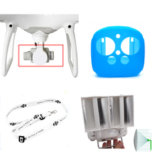 DJI Phantom 4/3 RC Drone Parts Neck strap + Camera Lens Cover + Silicone Protective Case + Signal Booster Enhance For DJI Free