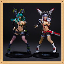 Sexy Adult Pink & Green Action Figure 1/7 scale painted figure Sexy Yuno Nurse Doll PVC ACGN figure Garage Kit Brinquedos Anime